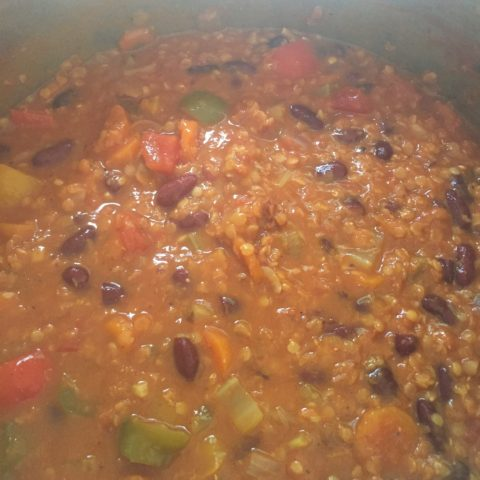 vegan chilli recipe
